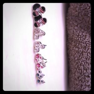 Minnie Mouse Earrings 4 for $10
